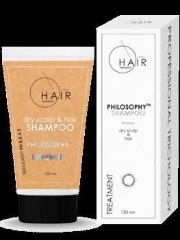 Шампунь для сухой кожи головы и волос 150мл\Dry Scalp & Hair Shampoo 150ml