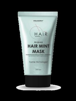 Маска с ментолом освежающая \ HAIR MINT MASK 250 ml